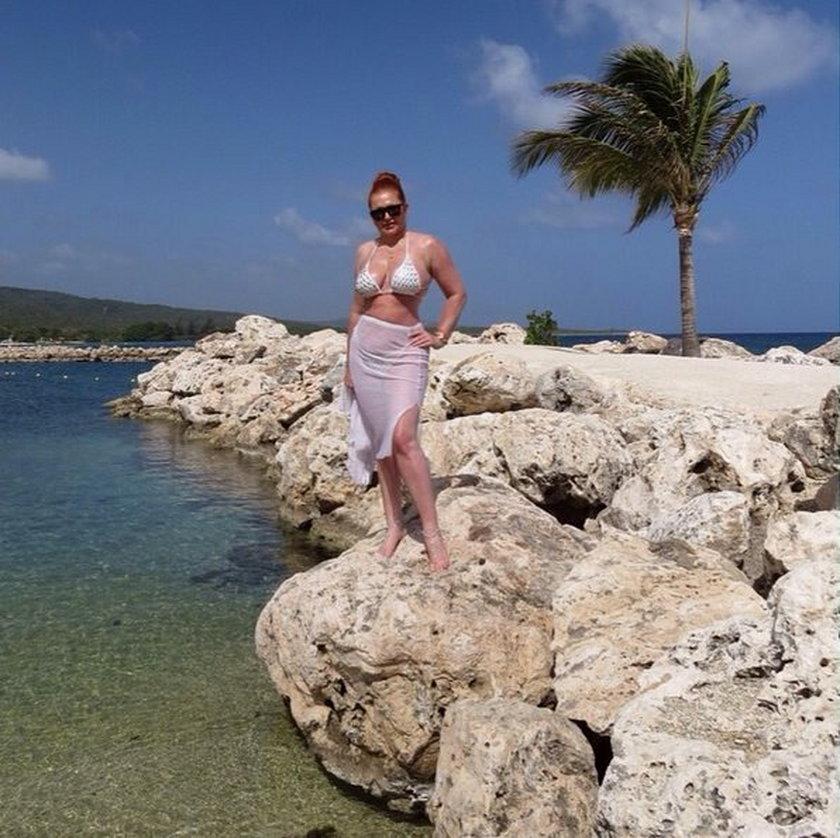 Marta Grycan w bikini