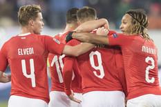 Fudbalska reprezentacija Belgije, Fudbalska reprezentacija Švajcarske