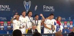Piłkarze Realu wtargnęli na konferencję prasową
