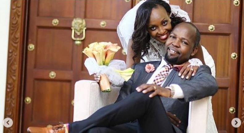 Alex Mwakideu and wife expecting baby number three