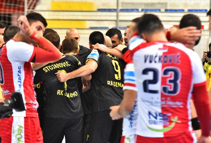 RK Vojvodina, RK Dinamo Pančevo