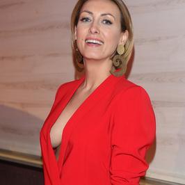 Anna Kalczyńska o krok od wpadki na gali finałowej znanej kampanii. Frywolna kreacja odsłoniła za wiele