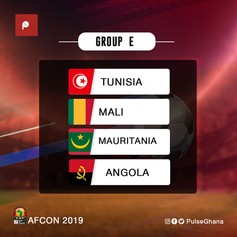 AFCON Group E