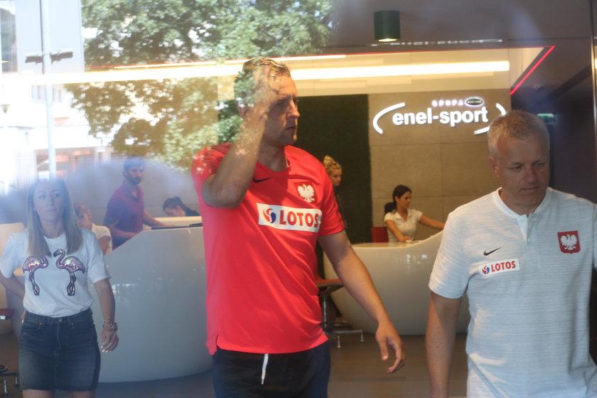 Kamil Glik rehabilitacja w Enel Sport