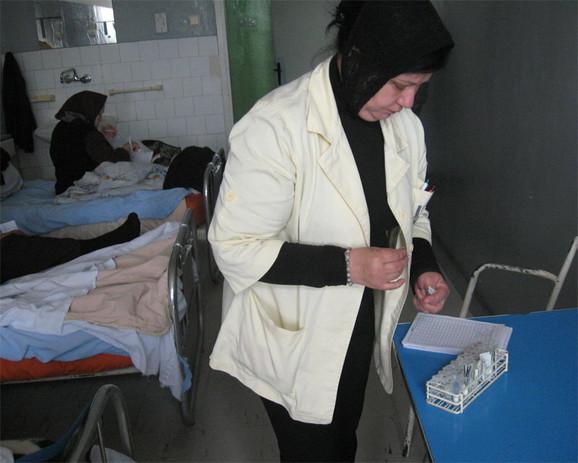OInterno odeljenje bolnice u Vranju, zasad, bez klima uređaja