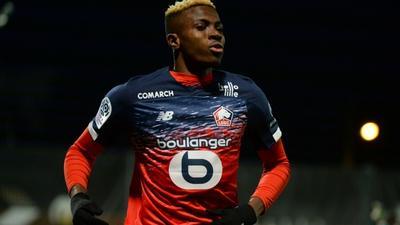 Everton looking to swoop in for Victor Osimhen