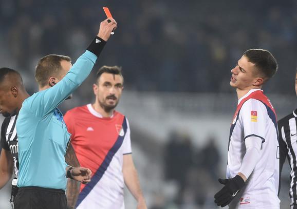 Crveni karton je dobio Lambulić