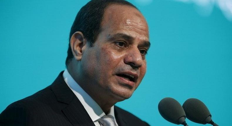 Egypt's Sisi says Britain, other NATO members must do more in Libya