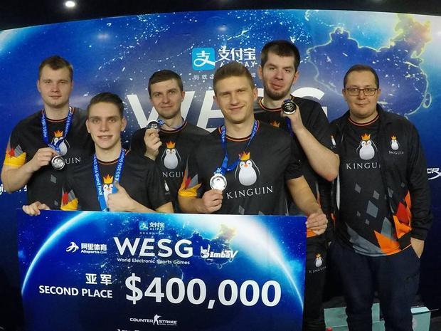 Team Kinguin na WESG 2016