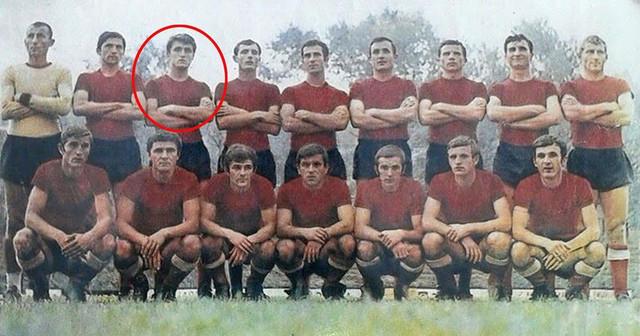 Radomir Antić na debiju u dresu užičke Slobode 1967. godine na meču sa Sutjeskom u Nikšiću