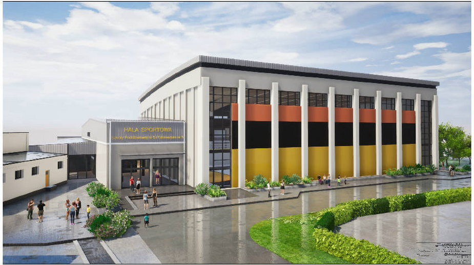 Nowa hala sportowa w Wieluniu