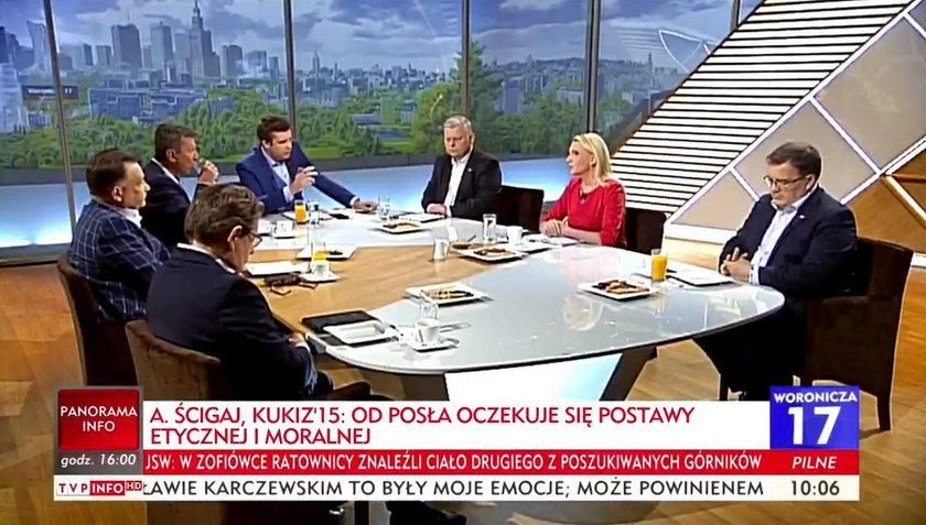 """Politycy opozycji wychodzą w trakcie programu TVP. """"Rynsztok!"""""""