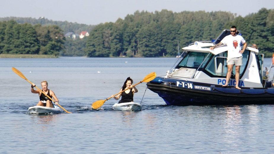 Policja Wodna, Mazury