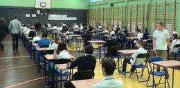 Gimnazjaliści zdają egzamin