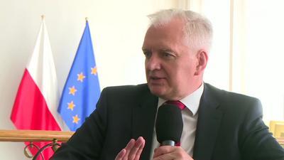 Jarosław Gowin o swojej dymisji: To jest brak odwagi cywilnej ze strony premiera
