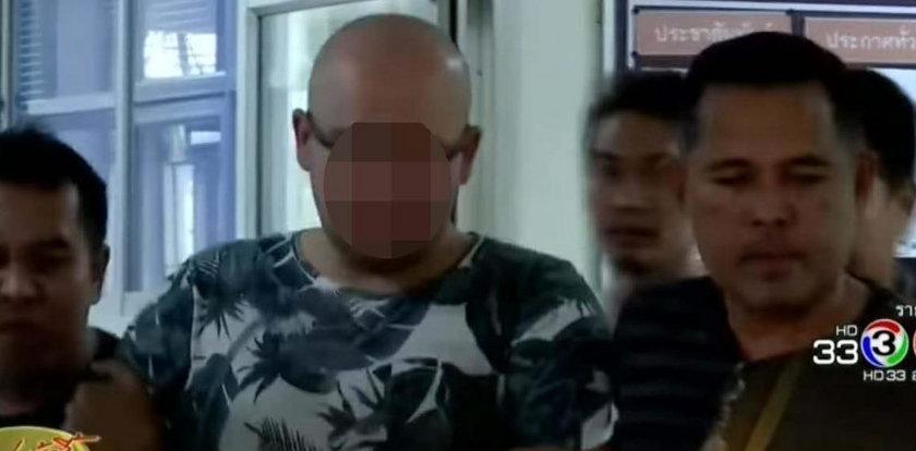 Polak wysadził bankomat w Tajlandii. Wpadł, bo zjadł bułkę