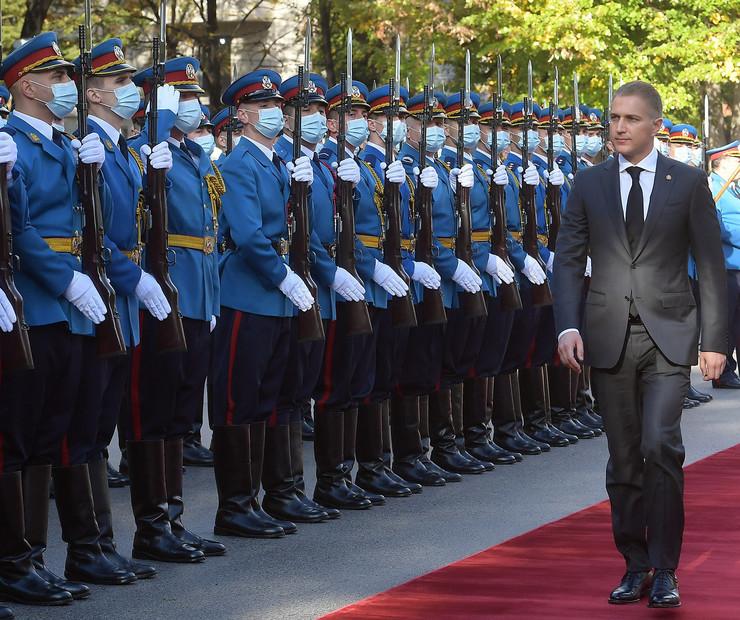 Ministar odbrane Nebojša Stefanović