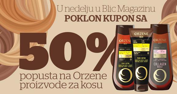 Orzene proizvodi uz Blic po povoljnijoj ceni