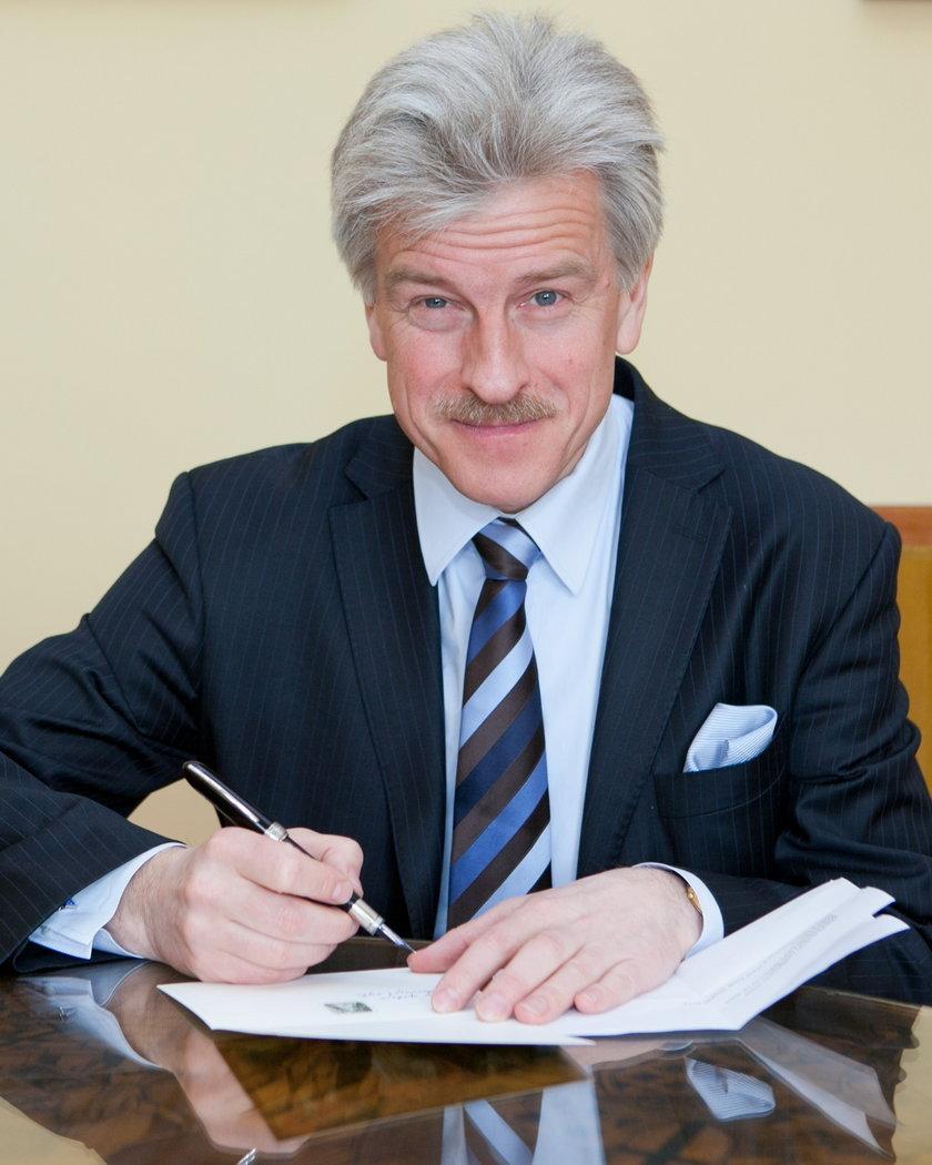 Szymon Ziółkowski będzie politykiem?