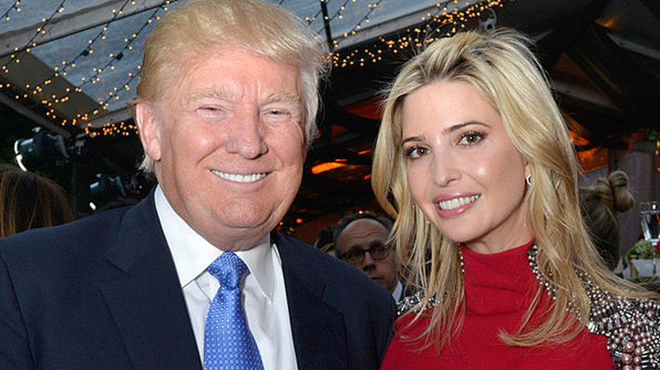 Znani ojcowie i ich sławne córki: Donald Trump i Ivanka Trump