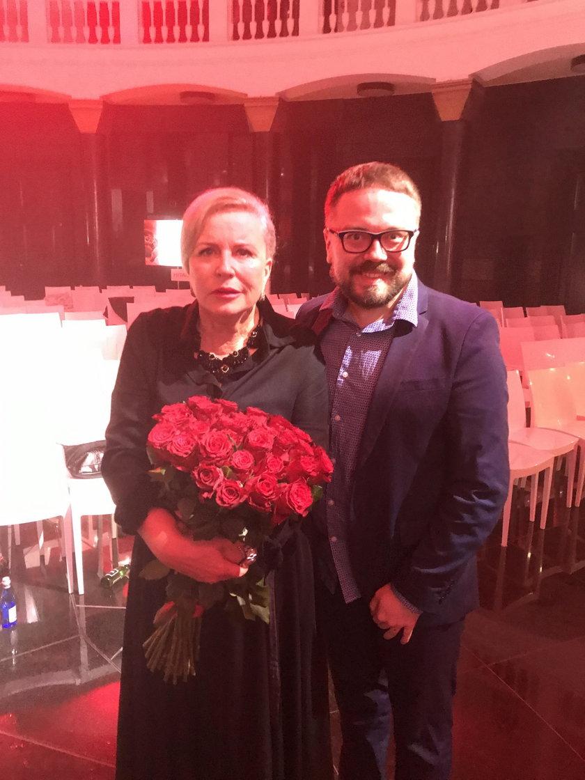 Krystyna Janda i Bartosz Pańczyk
