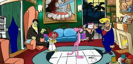 "Screen z gry ""Hokus Pokus Różowa Pantera"""