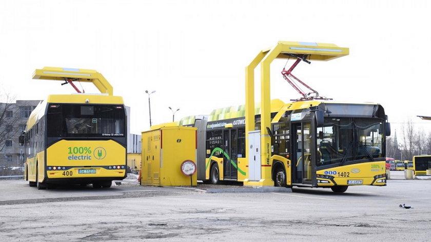 Zakup 43 autobusów elektrycznych dla województwa śląskiego