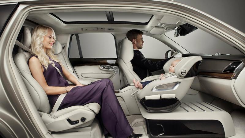 Volvo - fotelik dziecięcy