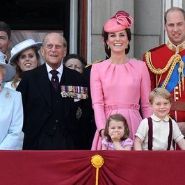 Brytyjska Rodzina Królewska świętowała 91. urodziny Królowej