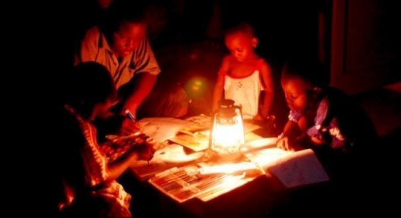 Kumasi plunged into darkness (File photo)