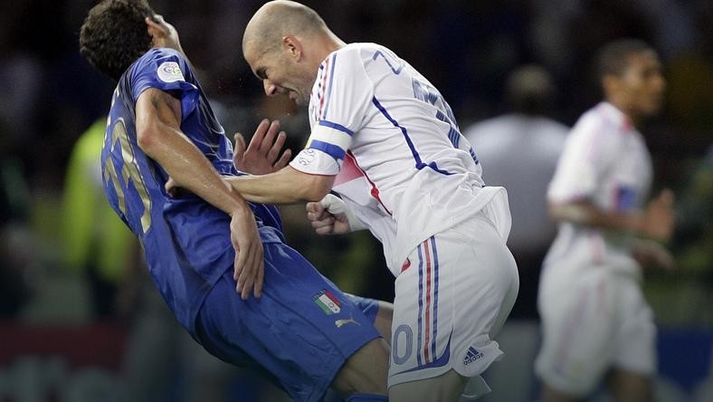 Zinedine Zidane i Marco Materazzi