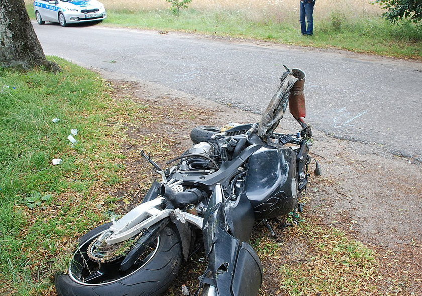 Motocykl przerobiony przez niepełnosprawnego mężczyznę