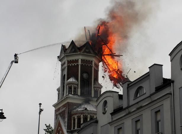 Pożar kościoła świętego Wojciecha w Białymstoku