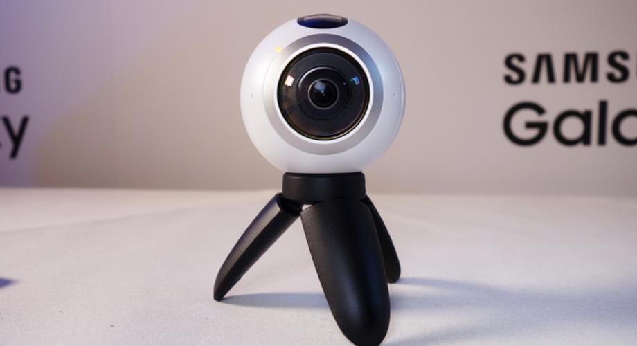 Gear 360: Samsung zeigt VR-Kamera auf dem MWC