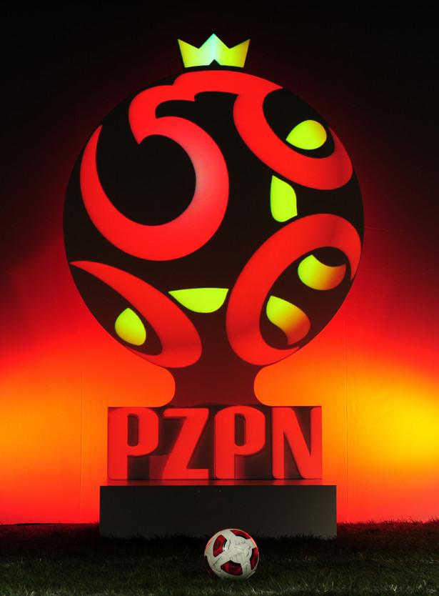 Nowe logo PZPN. Fot. MAREK BICZYK/PRZEGLąD SPORTOWY/NEWSPIX.PL