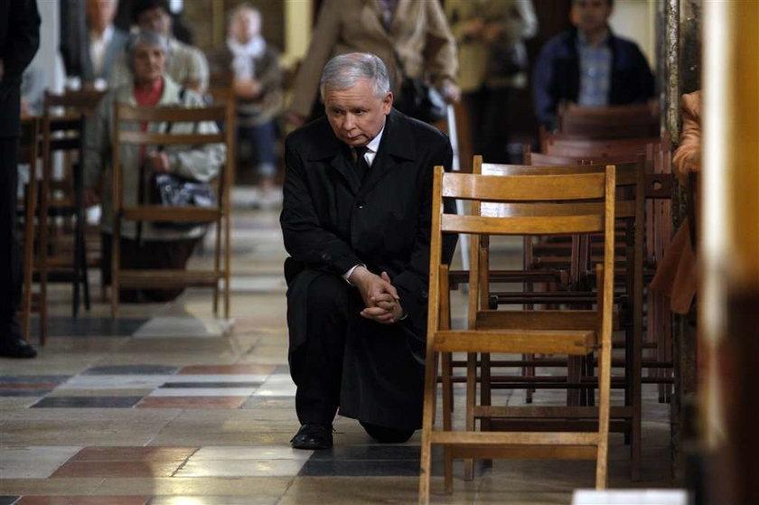 Jaroslaw Kaczynski, wybory, modlitwa,