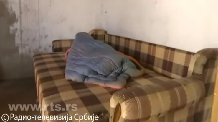 krevet Stara Pazova, dečak Petar Mitrović