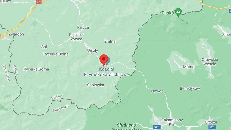 Trwa akacja ratunkowa w miejscowości Glinka