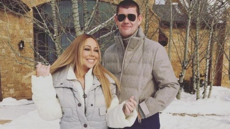 Mariah Carey with James Packer