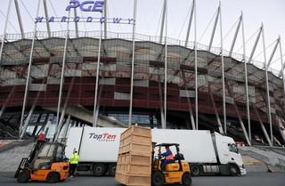 Dworczyk: W niedzielę kolejne 200 łóżek w szpitalu na PGE Narodowym