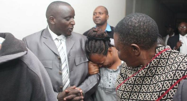 Former Ruaraka OCS Nahashon Mutua who was sentenced to death for murder