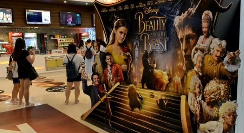 Beauty and the Beast has made $317 million in total since opening and is said to be the best ever for a March release by the website Variety