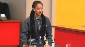 Rihanna jako sprzątaczka