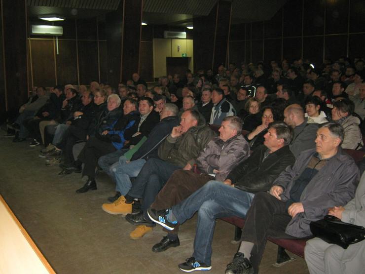 Bivsi radnici 14.oktobra traze zaostale plate foto s.milenkovic