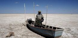 Jak wyschło drugie co do wielkości jezioro w kraju?