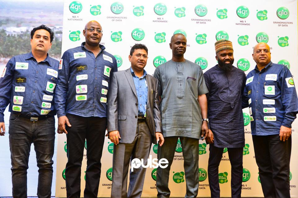 Globacom executives at Glo unveil event which held at Eko hotel & suites, Victoria Island Lagos on Friday, February 1, 2019.