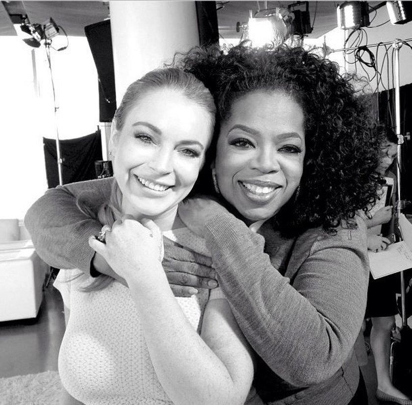 Lindsay Lohan i Oprah