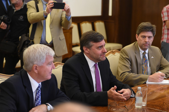 Vučić i Palmer su razgovarali i o ekonomskoj saradnji dveju zemalja