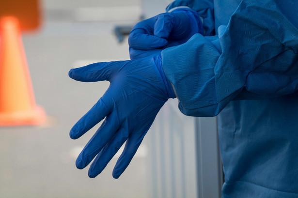 Rękawiczki, epidemia koronawirusa, Covid