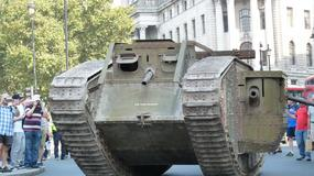 Czołgi na ulicach Londynu - World of Tanks świętuje 100-lecie czołgu